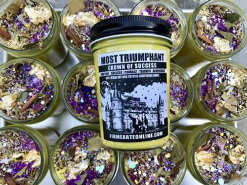 Most Triumphant- Soy Spell Candle