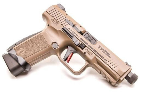 Canik TP9 Elite Combat 9mm FDE w/Threaded Barrel