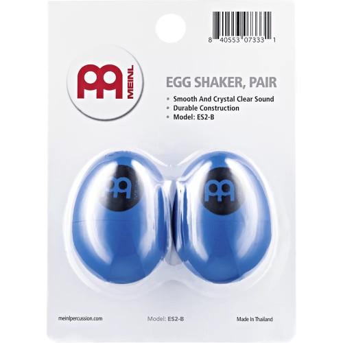 Meinl Percussion Egg Shaker, Pair