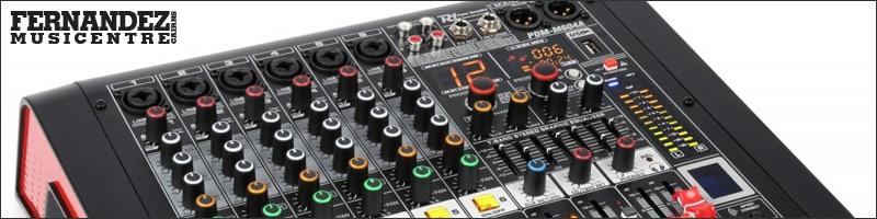 Mixers - Powered