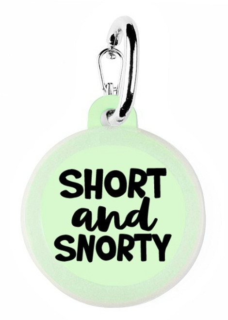 Short and Snorty Pet Tag