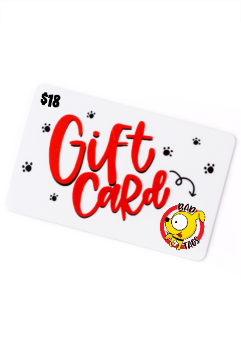 Bad Tags Gift Card