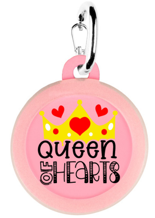 Queen of Hearts Dog Tag