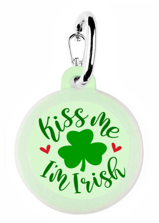 Kiss me I'm Irish Dog Tag
