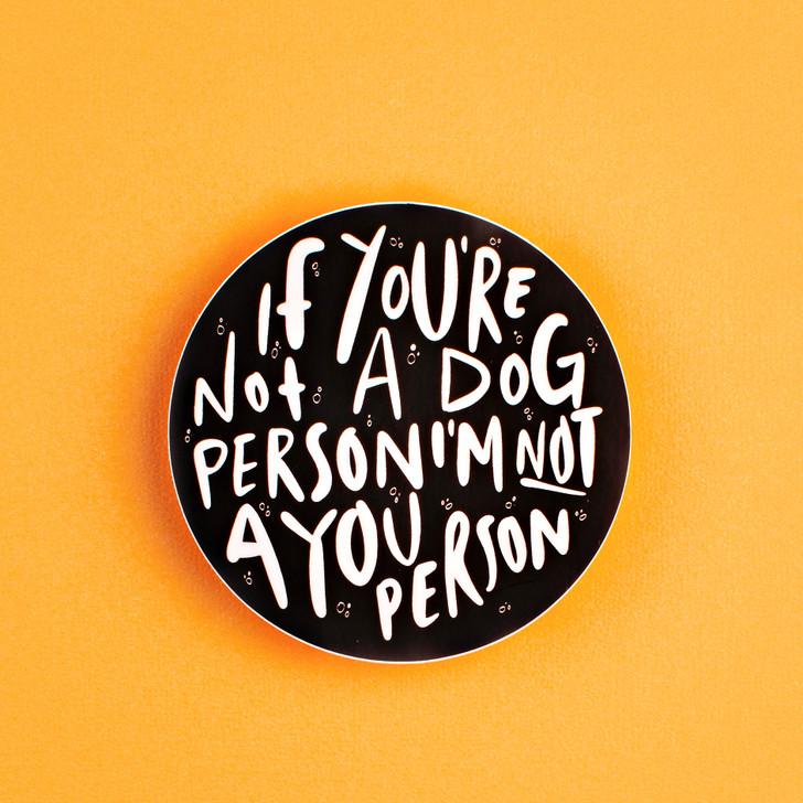 Dog Person Sticker