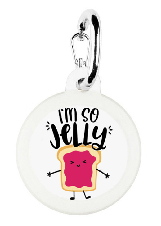 I'm So Jelly Pet Tag