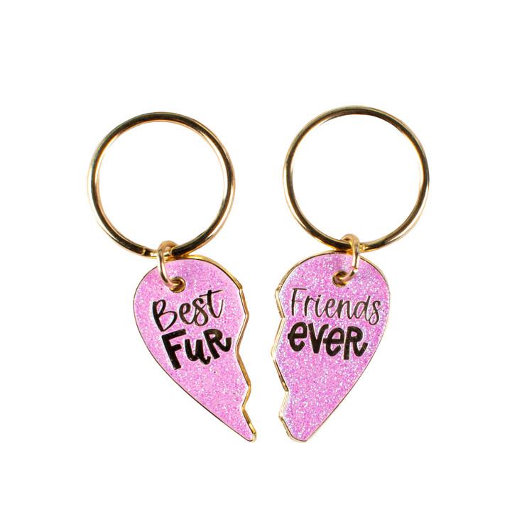 Pink BFF Enamel Charms