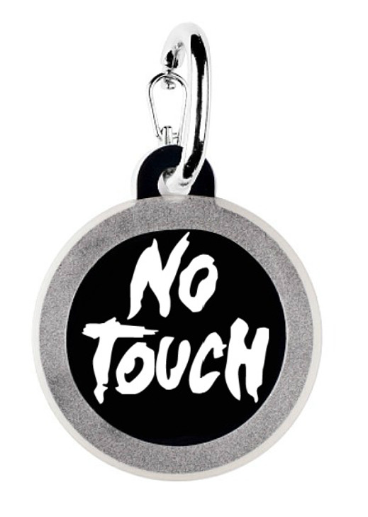 Don't Touch Dog Tag