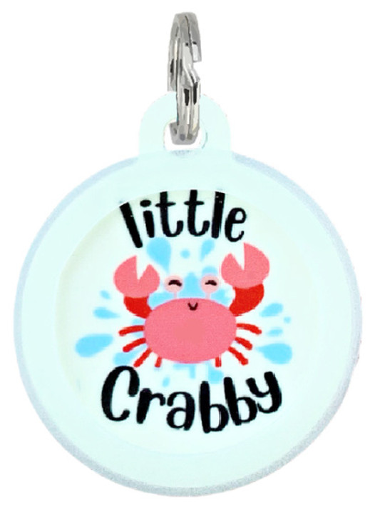I'm a Little Crabby Pet ID Tag