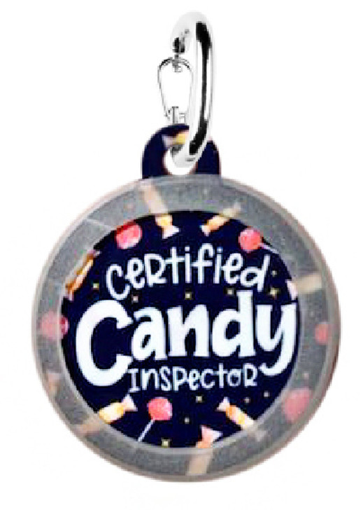 Certified Candy Inspector Dog ID Tag