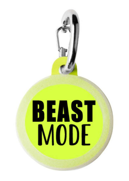 Beast Mode Pet Tag