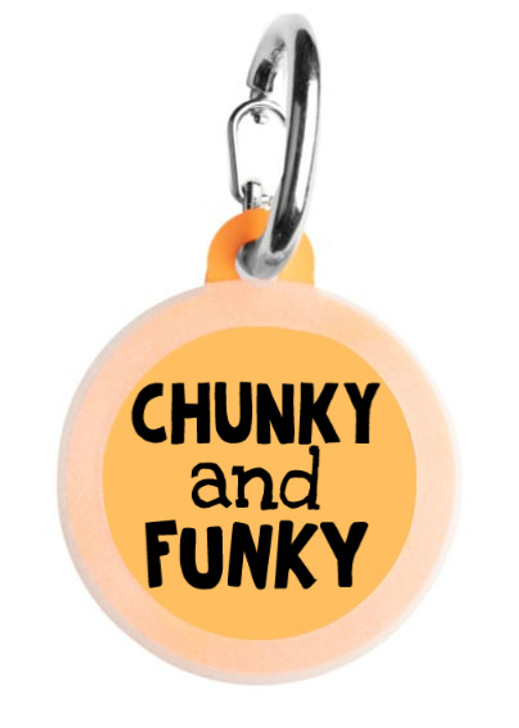 Chunky and Funky Pet Tag