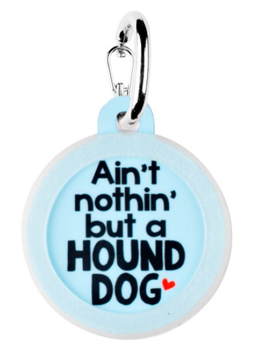 Hound Dog Pet Tag