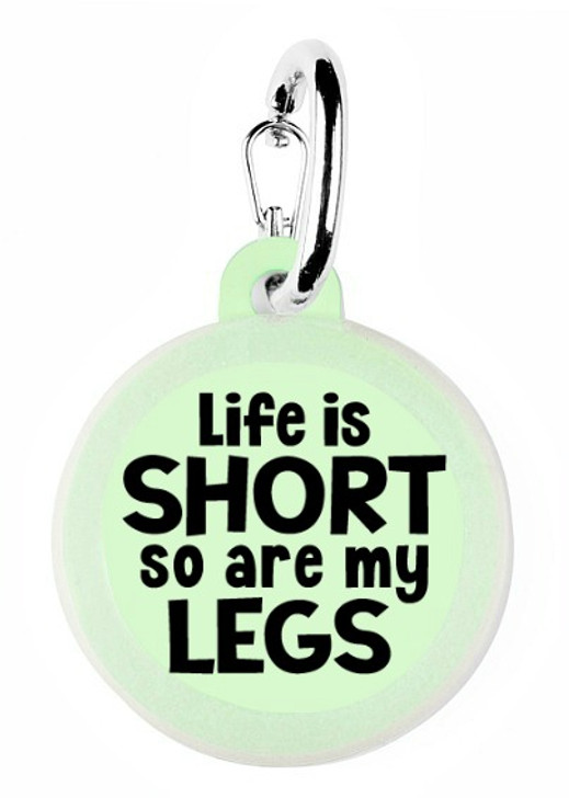 Life is Short Pet Tag
