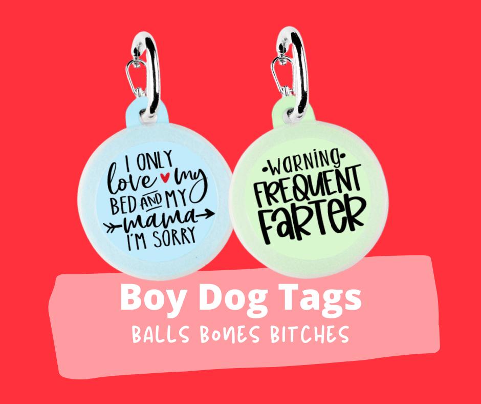 Boy Dog Tags
