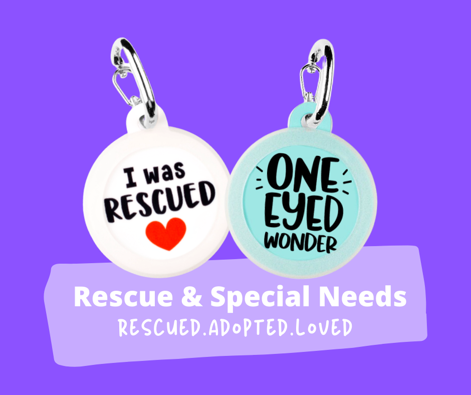 Rescue & Special Needs Dog Tags