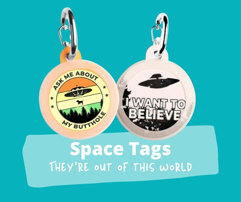 Space & Alien Dog Tags