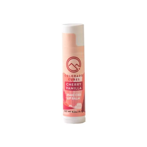 Colorado Cures - Topical - 25mg CBD Lip Balm - Cherry Vanilla