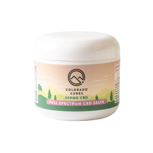 Colorado Cures - Topical - Full Spectrum Coconut Salve 4oz