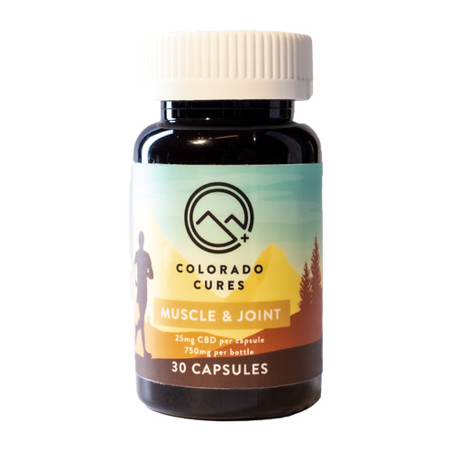 Colorado Cures - Muscle and Joint Capsules 750mg