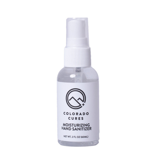 Colorado Cures - Topical - Moisturizing Hand Sanitizer 60mL (CBD Free)