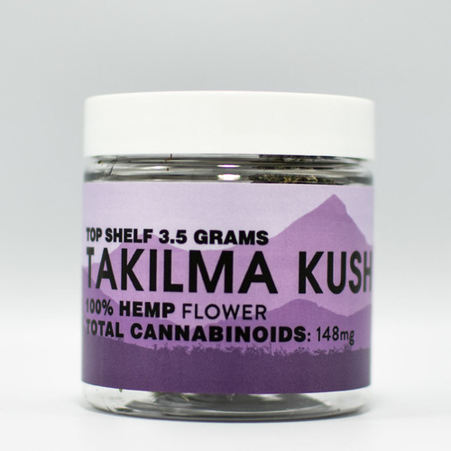 Colorado Cures - Hemp Flower - TAKILMA KUSH Jar 3.5g