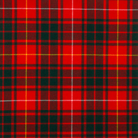 Bruce Modern Tartan Fabric Material Medium Weight