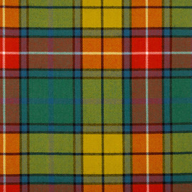 Buchanan Ancient Tartan Fabric Material Medium Weight