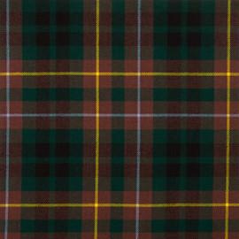 Buchanan Hunting Modern Tartan Fabric Material Medium Weight
