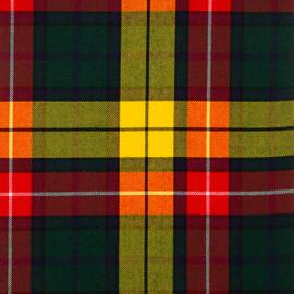 Buchanan Modern Tartan Fabric Material Medium Weight