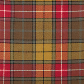 Buchanan Weathered Tartan Fabric Material Medium Weight