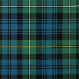 Campbell Of Argyll Ancient Tartan Fabric Material Medium Weight