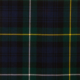 Campbell Of Argyll Modern Tartan Fabric Material Medium Weight