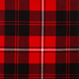 Cunningham Modern Tartan Fabric Material Medium Weight