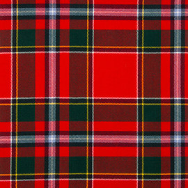 Drummond Of Perth Modern Tartan Fabric Material Medium Weight