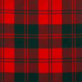 Erskine Modern Tartan Fabric Material Medium Weight