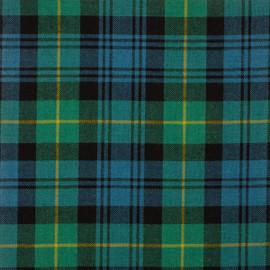 Gordon Clan Ancient Tartan Fabric Material Medium Weight