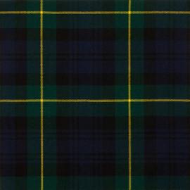 Gordon Clan Modern Tartan Fabric Material Medium Weight