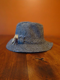 Donegal Tweed Walking Hat