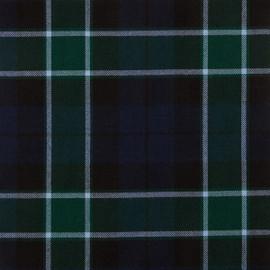 Graham Of Mentieth Modern Tartan Fabric Material Medium Weight