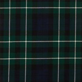 Graham Of Montrose Modern Tartan Fabric Material Medium Weight