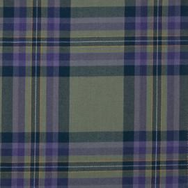 Heather Isle Tartan Fabric Material Medium Weight