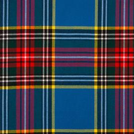 Macbeth Modern Tartan Fabric Material Medium Weight