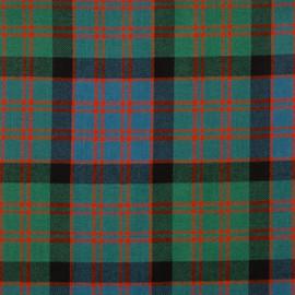 Macdonald Clan Ancient Tartan Fabric Material Medium Weight