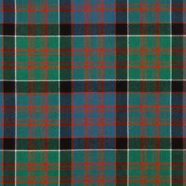 Macdonald Of Clanranald Ancient Tartan Fabric Material Medium Weight