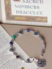 Sacred Numbers Celtic Bracelet