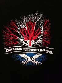 Canadian Born with Scottish Roots T-Shirt