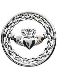 Claddagh Coin Insert for Tara's Diary Necklace