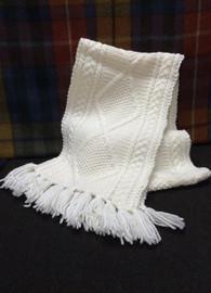 Aran Woollen Mills Knit Scarf