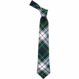 Campbell Dress Modern Scottish Tartan Plaid Tie For Men | 100% Worsted Wool | Made in Scotland